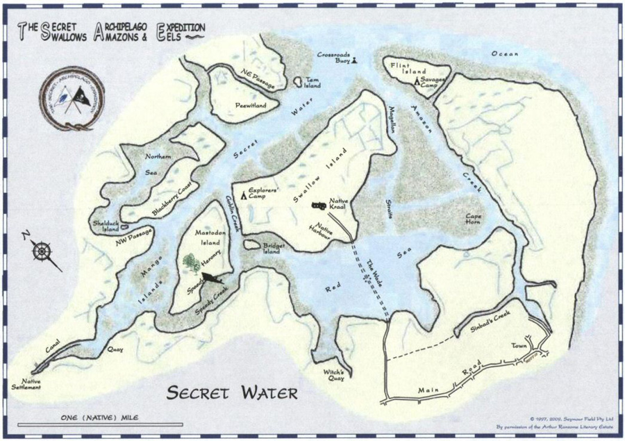 The secret of water book